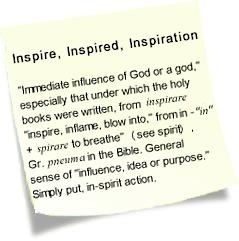 Inspiratiom - Sticky Note
