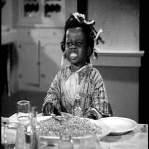 Buckwheat (as a girl)